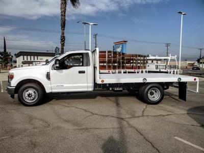 2020 Ford F-350 Regular Cab DRW 4x2, Scelzi WFB Flatbed #FL4446 - photo 3