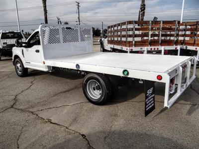 2020 Ford F-350 Regular Cab DRW 4x2, Scelzi WFB Flatbed #FL4446 - photo 2