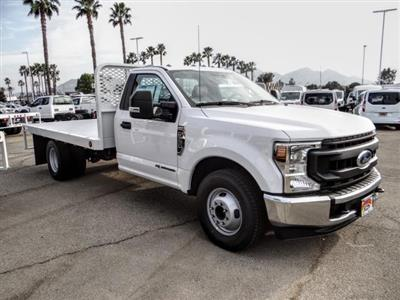 2020 Ford F-350 Regular Cab DRW 4x2, Scelzi WFB Flatbed #FL4446 - photo 7