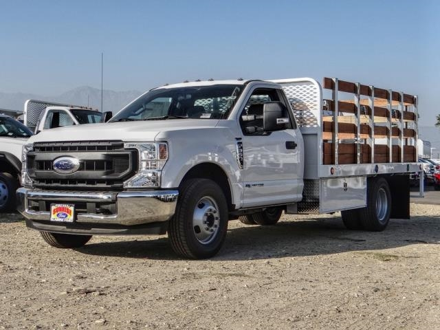 2020 Ford F-350 Regular Cab DRW 4x2, Scelzi Stake Bed #FL4448 - photo 1