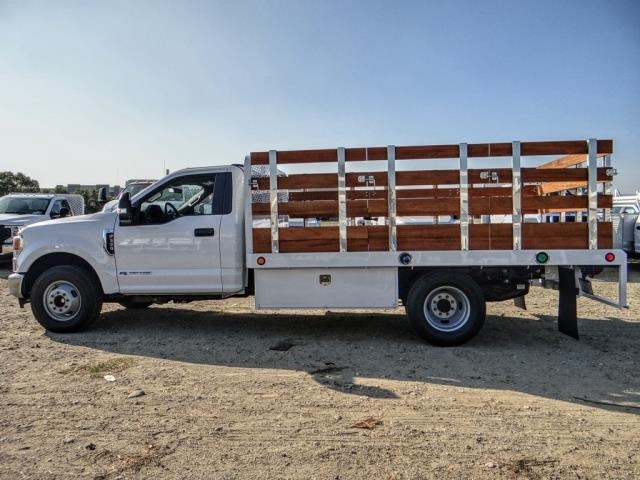 2020 Ford F-350 Regular Cab DRW 4x2, Scelzi WFB Stake Bed #FL4448 - photo 3