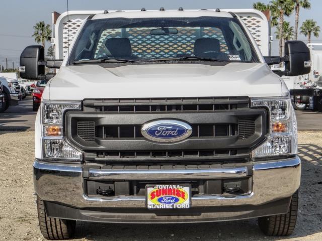 2020 Ford F-350 Regular Cab DRW 4x2, Scelzi WFB Stake Bed #FL4448 - photo 8