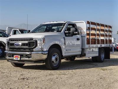 2020 Ford F-350 Regular Cab DRW 4x2, Scelzi WFB Stake Bed #FL4448 - photo 1