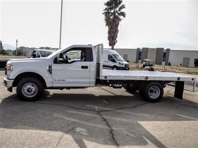 2020 Ford F-350 Regular Cab DRW 4x2, Scelzi WFB Flatbed #FL4449 - photo 3
