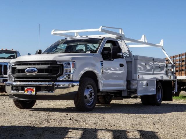 2020 Ford F-350 Regular Cab DRW 4x2, Scelzi Contractor Body #FL4474 - photo 1