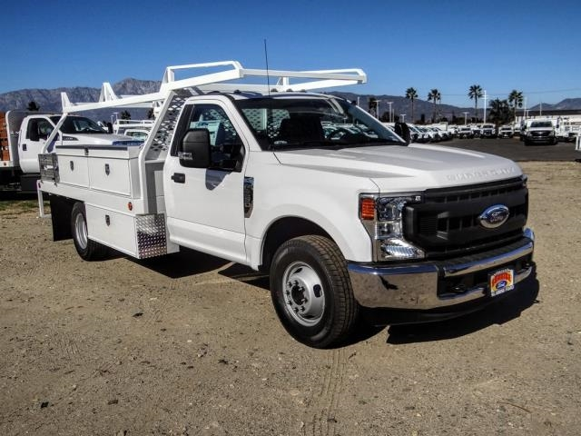 2020 Ford F-350 Regular Cab DRW 4x2, Scelzi CTFB Contractor Body #FL4474 - photo 8