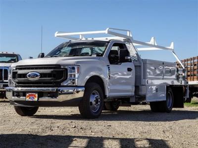 2020 Ford F-350 Regular Cab DRW 4x2, Scelzi CTFB Contractor Body #FL4474 - photo 1
