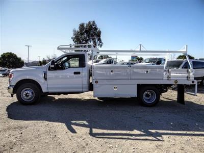 2020 Ford F-350 Regular Cab DRW 4x2, Scelzi CTFB Contractor Body #FL4474 - photo 3