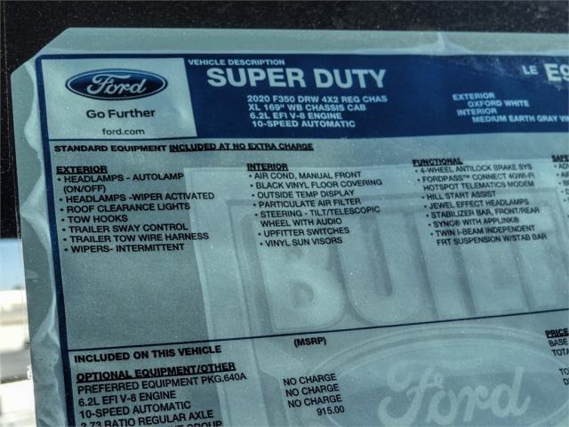 2020 Ford F-350 Regular Cab DRW 4x2, Scelzi WFB Flatbed #FL4532 - photo 10