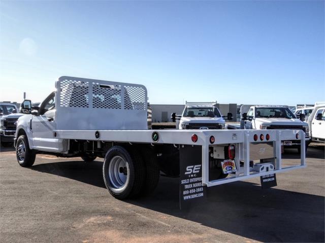 2020 Ford F-350 Regular Cab DRW 4x2, Scelzi WFB Flatbed #FL4546 - photo 2