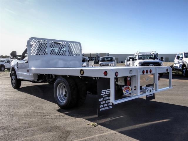 2020 Ford F-350 Regular Cab DRW 4x2, Scelzi WFB Flatbed #FL4548 - photo 2