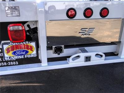 2020 Ford F-350 Regular Cab DRW 4x2, Scelzi WFB Flatbed #FL4548 - photo 9
