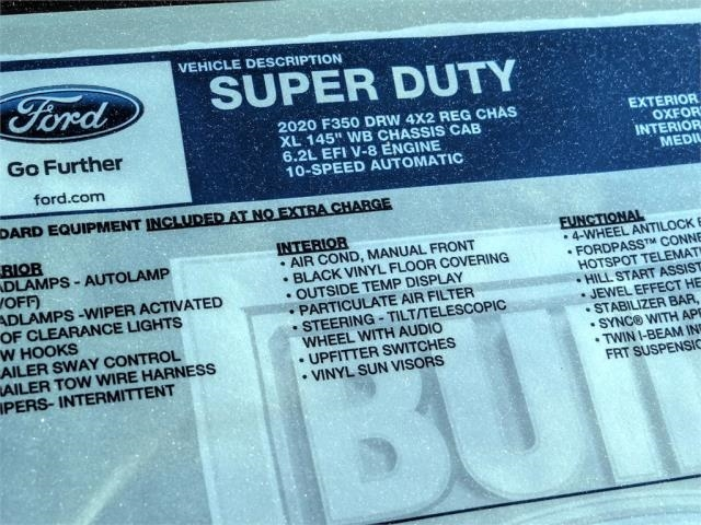 2020 Ford F-350 Regular Cab DRW 4x2, Scelzi Signature Service Body #FL4553 - photo 12