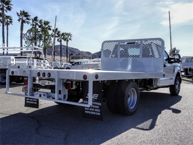 2020 Ford F-350 Regular Cab DRW 4x2, Scelzi WFB Flatbed #FL4615 - photo 4