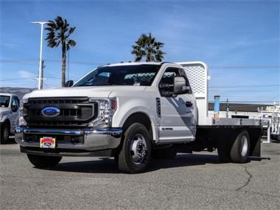 2020 Ford F-350 Regular Cab DRW 4x2, Scelzi WFB Flatbed #FL4615 - photo 1
