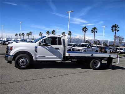 2020 Ford F-350 Regular Cab DRW 4x2, Scelzi WFB Flatbed #FL4615 - photo 3