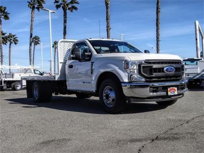2020 Ford F-350 Regular Cab DRW 4x2, Scelzi WFB Flatbed #FL4615 - photo 6