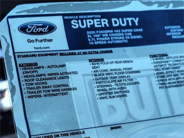 2020 Ford F-350 Super Cab DRW 4x2, Scelzi Signature Service Body #FL4616 - photo 12