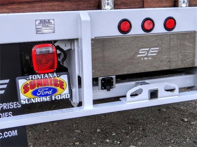 2020 Ford F-550 Regular Cab DRW 4x2, Scelzi WFB Stake Bed #FL4653 - photo 11