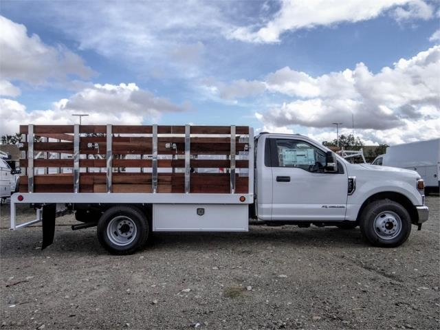 2020 Ford F-350 Regular Cab DRW 4x2, Scelzi WFB Stake Bed #FL4654 - photo 5