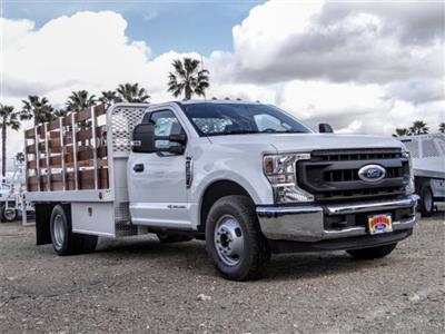 2020 Ford F-350 Regular Cab DRW 4x2, Scelzi WFB Stake Bed #FL4654 - photo 6