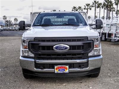 2020 Ford F-350 Regular Cab DRW 4x2, Scelzi WFB Stake Bed #FL4654 - photo 7