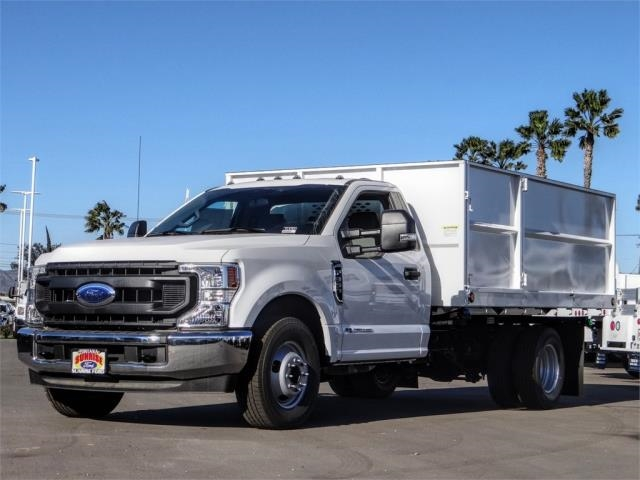 2020 Ford F-350 Regular Cab DRW 4x2, Scelzi Landscape Dump #FL4761 - photo 1
