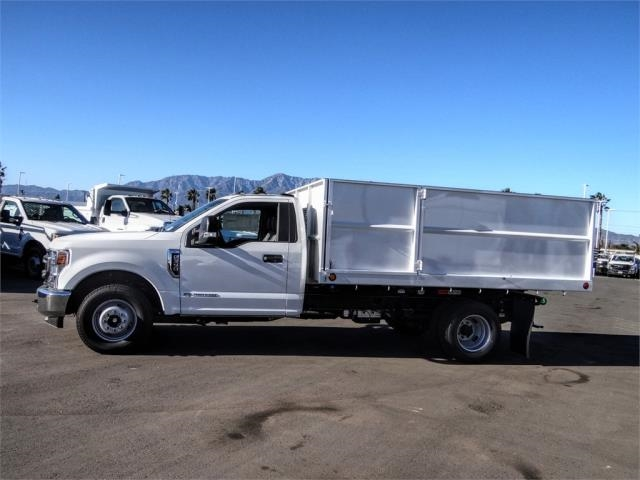 2020 Ford F-350 Regular Cab DRW 4x2, Scelzi Landscape Dump #FL4761 - photo 3