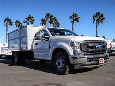 2020 Ford F-350 Regular Cab DRW 4x2, Scelzi Landscape Dump #FL4761 - photo 6