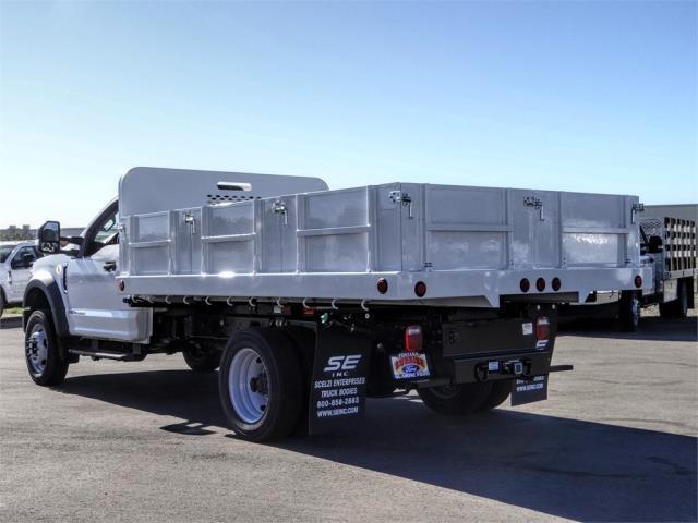 2020 Ford F-550 Regular Cab DRW 4x2, Scelzi Dump Body Flatbed #FL4763 - photo 2