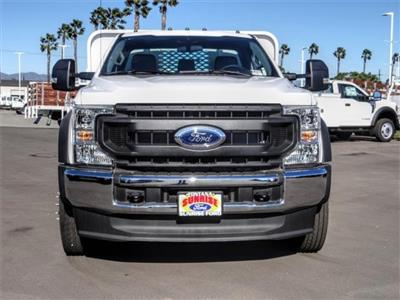 2020 Ford F-550 Regular Cab DRW 4x2, Scelzi Dump Body Flatbed #FL4763 - photo 7