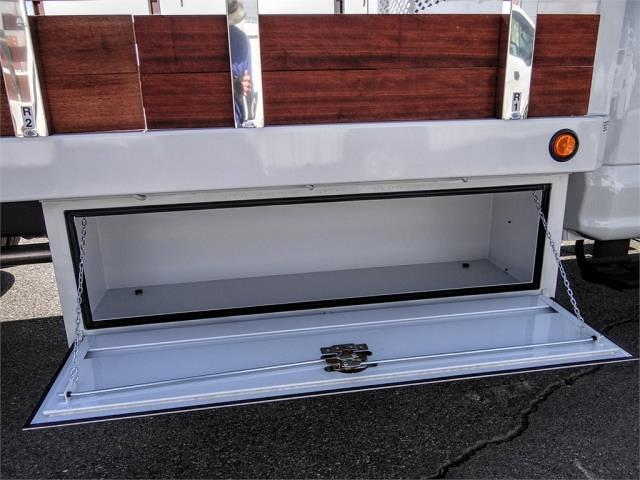 2020 Ford F-550 Regular Cab DRW 4x2, Scelzi WFB Stake Bed #FL4795 - photo 5