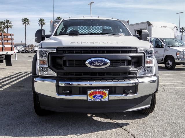 2020 Ford F-550 Regular Cab DRW 4x2, Scelzi WFB Stake Bed #FL4795 - photo 7