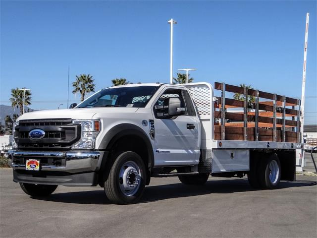 2020 Ford F-550 Regular Cab DRW 4x2, Scelzi WFB Stake Bed #FL4796 - photo 1