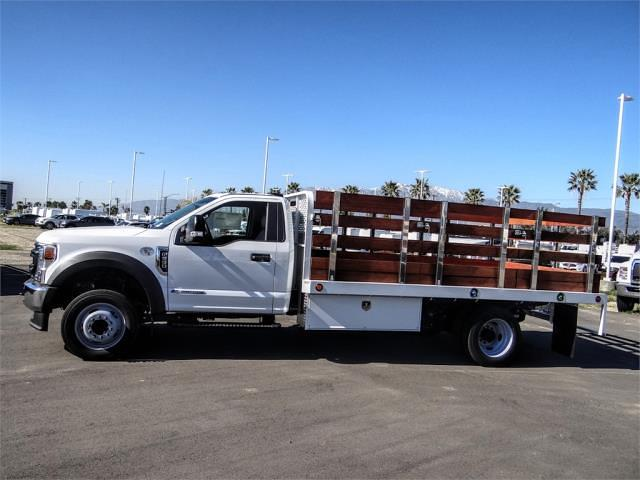 2020 Ford F-550 Regular Cab DRW 4x2, Scelzi WFB Stake Bed #FL4796 - photo 3