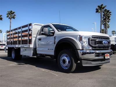 2020 Ford F-550 Regular Cab DRW 4x2, Scelzi WFB Stake Bed #FL4796 - photo 6
