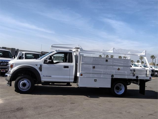 2020 Ford F-450 Regular Cab DRW 4x2, Scelzi SFB Contractor Body #FL4797 - photo 3
