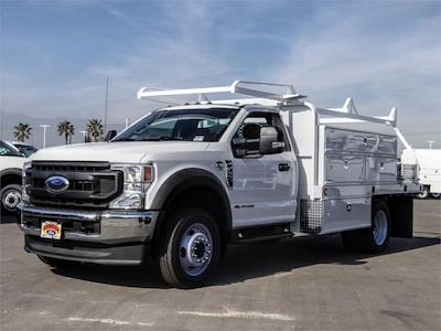 2020 Ford F-450 Regular Cab DRW 4x2, Scelzi SFB Contractor Body #FL4797 - photo 1