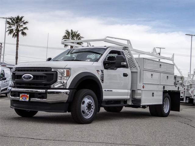 2020 Ford F-450 Regular Cab DRW 4x2, Scelzi Contractor Body #FL4802 - photo 1