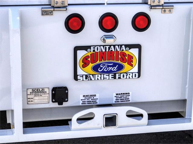 2020 Ford F-450 Regular Cab DRW 4x2, Scelzi SFB Flatbed #FL4839 - photo 11