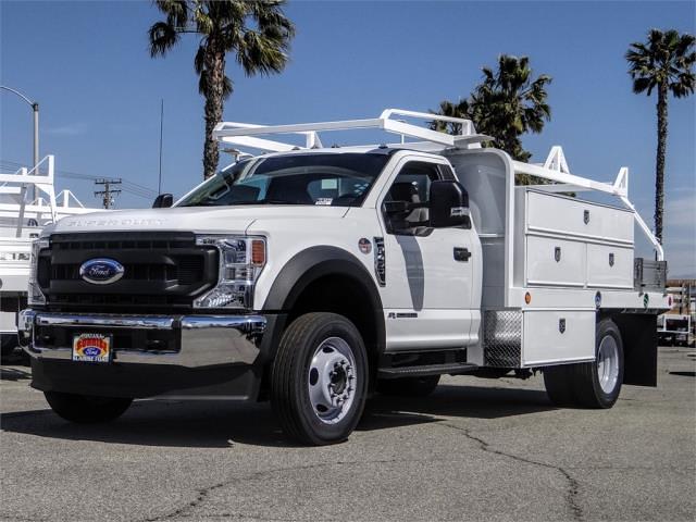 2020 Ford F-450 Regular Cab DRW 4x2, Scelzi Contractor Body #FL4839 - photo 1