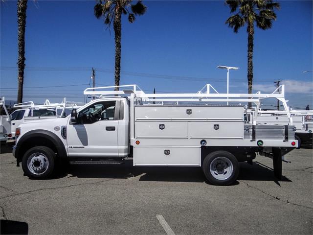 2020 Ford F-450 Regular Cab DRW 4x2, Scelzi SCTFB Contractor Body #FL4839 - photo 3