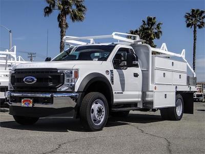 2020 Ford F-450, Scelzi Contractor Body