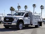 2020 Ford F-450 Regular Cab DRW 4x2, Scelzi SFB Flatbed #FL4843 - photo 1