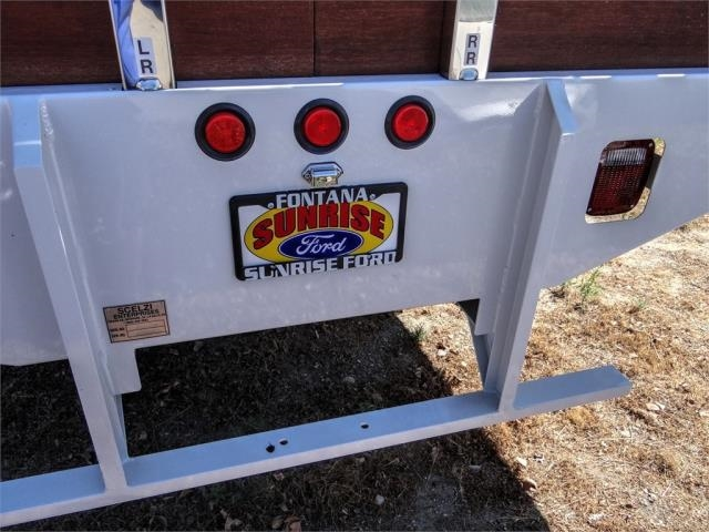 2021 Ford F-650 Regular Cab DRW 4x2, Scelzi SFB Stake Bed #FM0027 - photo 11