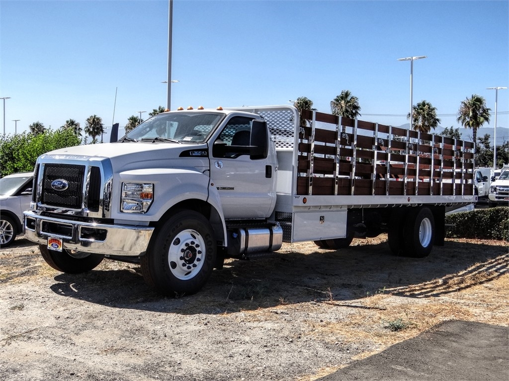 2021 Ford F-650 Regular Cab DRW 4x2, Scelzi Stake Bed #FM0027 - photo 1