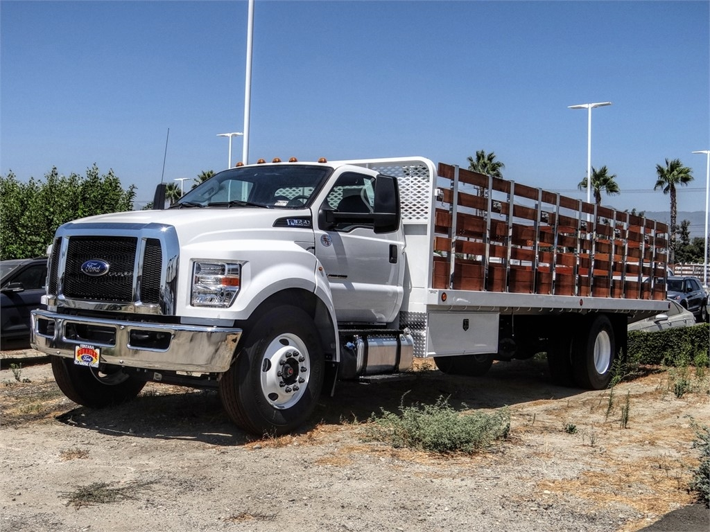 2021 Ford F-650 Regular Cab DRW 4x2, Scelzi Stake Bed #FM0032 - photo 1