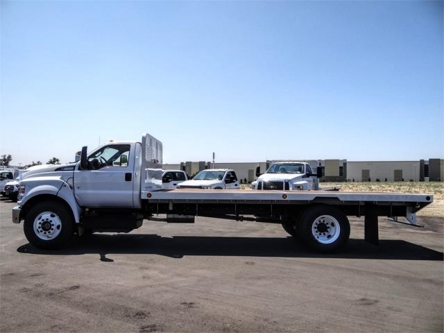 2021 Ford F-650 Regular Cab DRW 4x2, Scelzi SFB Flatbed #FM0034 - photo 3