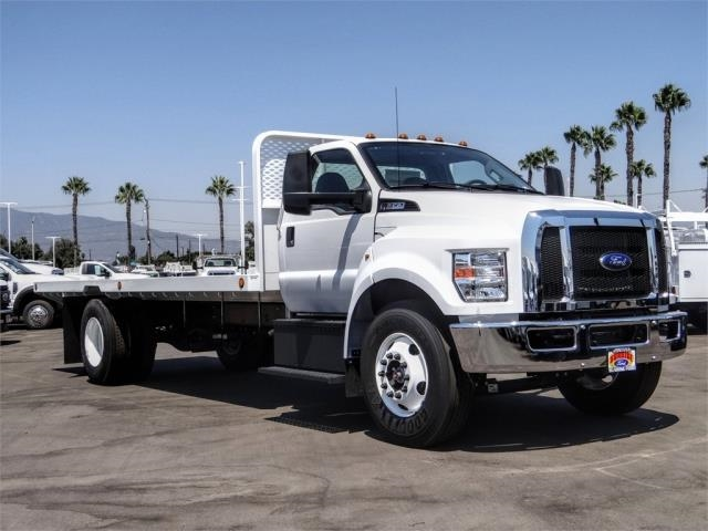 2021 Ford F-650 Regular Cab DRW 4x2, Scelzi SFB Flatbed #FM0034 - photo 6