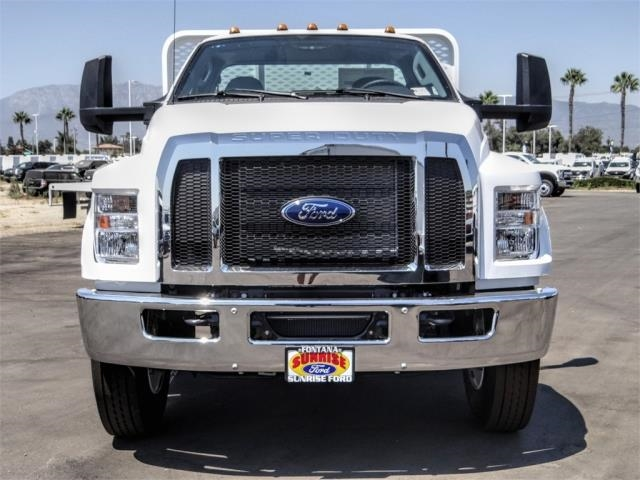 2021 Ford F-650 Regular Cab DRW 4x2, Scelzi SFB Flatbed #FM0034 - photo 7
